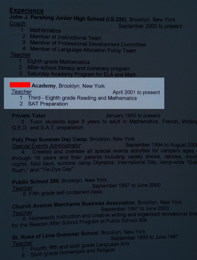 AP Resume