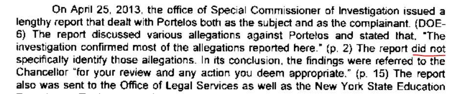 Arbitrator Tener SCI mention