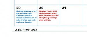Claudio Calendar 1