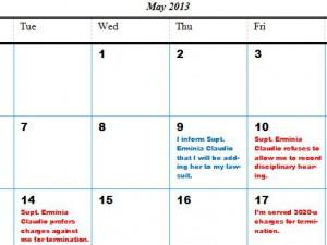 Claudio Calendar 3