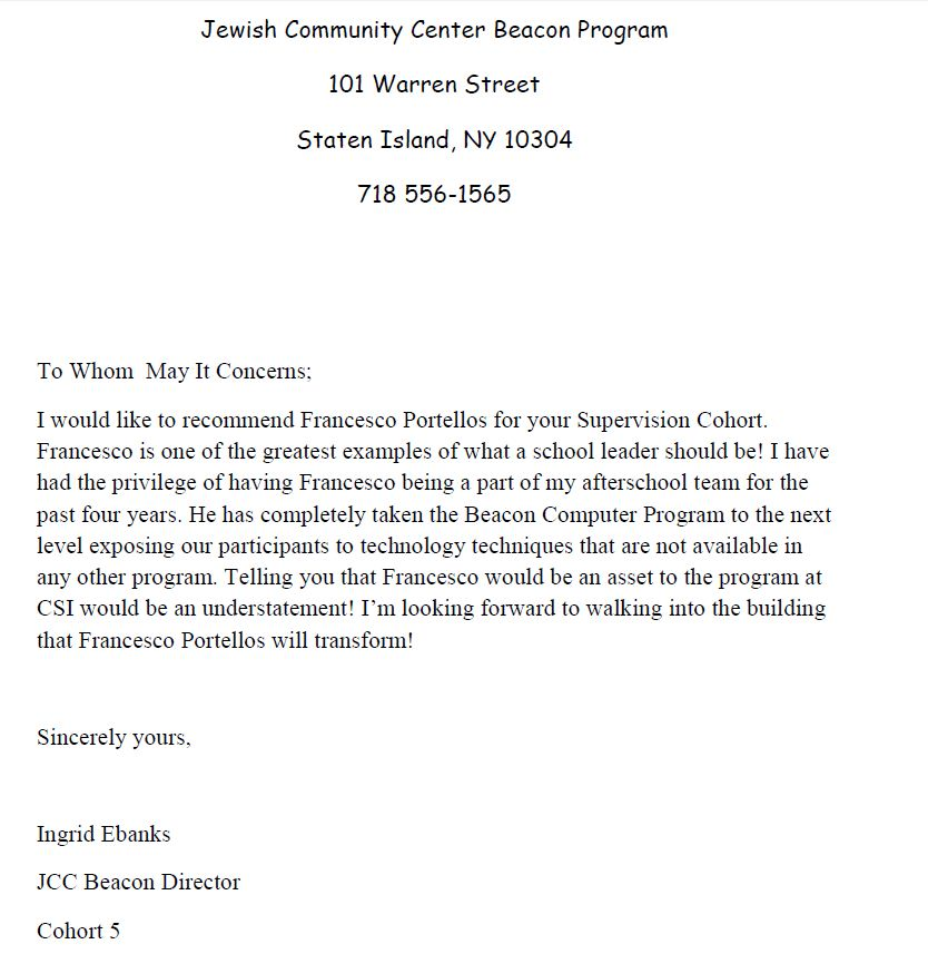 Letters Of Recommendation – Educator Fights Back
