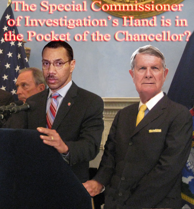 SCI Richard Condon is in the Pocket of the DOE Dennis Walcott