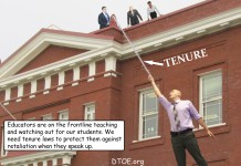 Teacher Tenure Protection