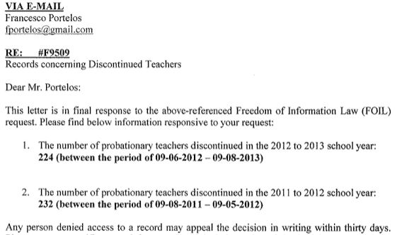 discontinued teachers